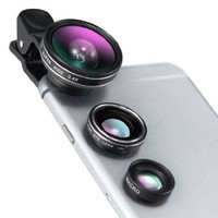 TaoTronics iPhone Lens Fisheye Lens Phone Camera Lens Clip Kit for Universal Smartphone