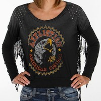 Affliction American Customs Wild Cropped Top