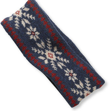 Women's Winter Knit Headband, Fair Isle | Free Shipping at L.L.Bean