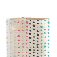 Painted Dots Storage Bin
