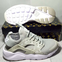 shosouvenir : NIKE/LV  AIR HUARACHE  Fashion Running Sports Shoes  men and women