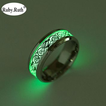 dragon ring that glows in the dark, the dragon tattoo ring