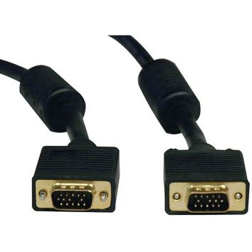 Tripp Lite(R) P502-100 VGA High-Resolution Coaxial Monitor Cable with RGB Coaxial (100ft)