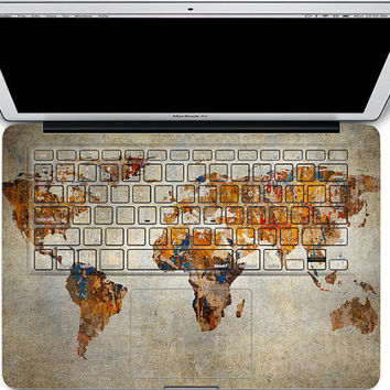 macbook keyboard decal mac pro retina 13 keyboard decal cover macbook decals air map apple decal sticker laptop macbook decal keyboard skin