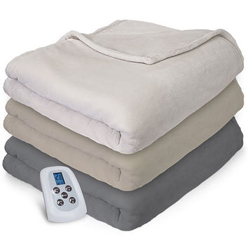 Serta® Plush Electric Warming Blanket - JCPenney
