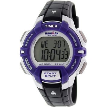 New TIMEX T5K812 Ironman Triathlon Unisex Digital Chronograph Sport Watch