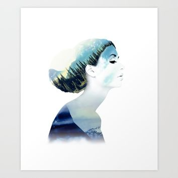 Women Art Print by RIZA PEKER