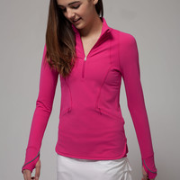 think fast zip pullover | ivivva