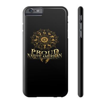Proud native american Phone Case