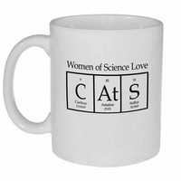 Cat Periodic Table Women of Science Coffee or Tea Mug