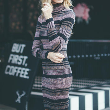 Tag Line Sweater Dress