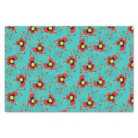 Blooming Flowers Pattern Tissue Paper