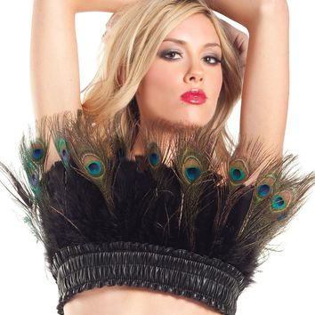 Peacock Feather Costume Top