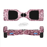 The Subtle Pink Glimmer Full-Body Skin Set for the Smart Drifting SuperCharged iiRov HoverBoard