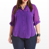 Tatters of the Heart Blouse - Tops - Clothing - All Categories