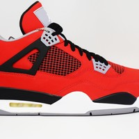 Beauty Ticks Air Jordan 4 Retro Toro Bravo Basketball Shoes