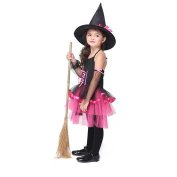 New Children's Performance Suits Cosplay Animation Clothing Dance Clothes Witch Carnaval Costume