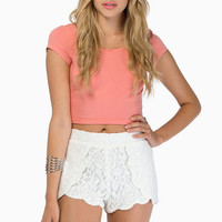 Rose Hedge Shorts $36