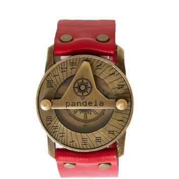 Pandeia Sundial Watch Ruby