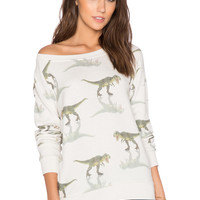 All Things Fabulous T Rex Jumper in Stone