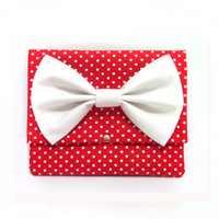 iPad Case with White Bow