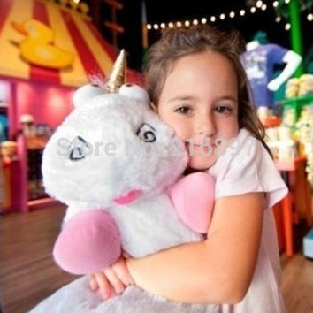 2017 Big Size 60CM & 45cm Despicable ME Unicorn Movie Plush Toy 24Inch  stuffed animals & plush Toys