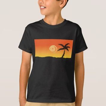Island Sunset T-Shirt