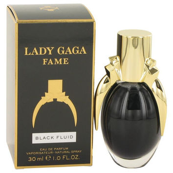 Lady Gaga Fame Black Fluid by Lady Gaga Eau De Parfum Spray 1 oz