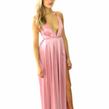 Creme Catalina Maxi Dress