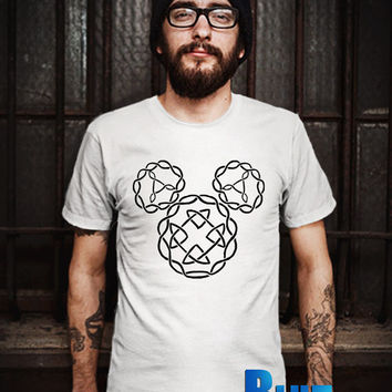 Celtic Knot Mickey Symbol Men T-Shirt - Symbol T-Shirt - Mickey Mouse T-Shirt - Disney Design T-Shirt for Men (Various Color Available)