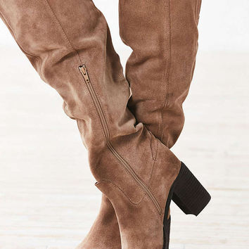 Jeffrey Campbell Raylan Over The Knee Boot - Urban Outfitters