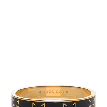 cool cat hinged idiom bangle