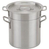 Royal Industries ROY DB 20  20 Qt Aluminum Double Boiler