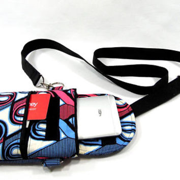 Crossbody cell phone pouch, wristlet cell phone case and glasses case