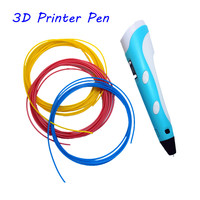 3D Printer Drawing Pen For LCD screen doodle 3D printing pen 3D model free filament Arts toys for Kids Birthday Christmas gifts