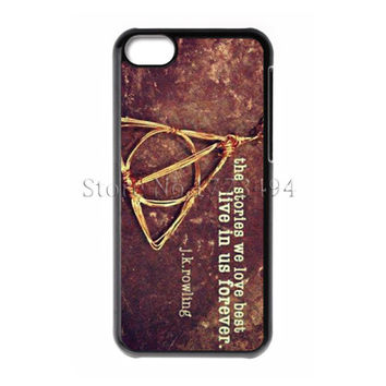 Harry Potter Cover for iPhone 4 4S 5 5S 5C 6 Plus Touch 5 Samsung Galaxy S3 S4 S5 Mini S6 Edge Note 2 3 4  A3 A5 A7 E5 E7 Case