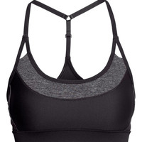 Sports Bra - from H&M
