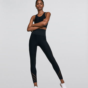 Blue ankle-length leggings - Best Sellers - NEW IN | Oysho United Kingdom