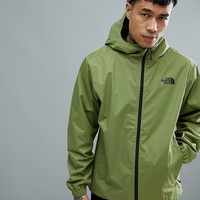 The North Face Quest Jacket Waterproof Hooded In Green at asos.com
