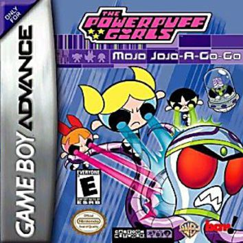 Powerpuff Girls Mojo Jojo a Gogo Nintendo Game Boy Advance Game