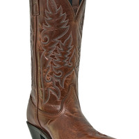 Laredo Women's Madison Burnt Orange Fashion Cowgirl Boots