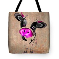 """Little Cow Tote Bag for Sale by Liane Wright (18"""" x 18"""")"""