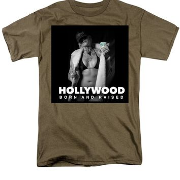 After Dark Model Elisabeth Hollywood Born - Men's T-Shirt  (Regular Fit)