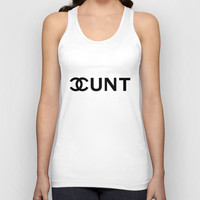 Couture Cunt Unisex Tank Top by RexLambo