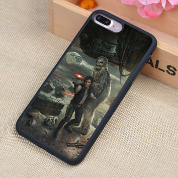 HAN SOLO CHEWBACCA STAR WARS Soft TPU Skin Cell Phone Cases For iPhone 7 7 Plus 6 6S Plus 5 5S 5C SE 4 4S Back Cover Shell