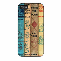Winnie The Pooh Set Book iPhone 5s Case