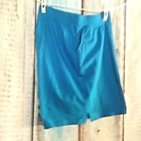 Just My Size Plus Size 3X Shorts  Blue