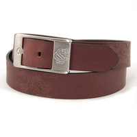 South Carolina Gamecocks NCAA Men's Embossed Leather Belt (Size 34)