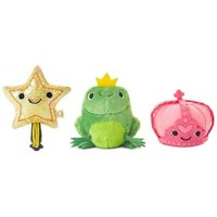 Happy Go Luckys Fairy Tale Mini Stuffed Animals, Set of 3