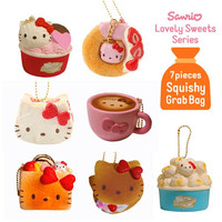 20% OFF Sanrio Squishy Grab Bag (Lovely Sweets Series 7 piece Set)